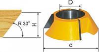 Фреза кромочная конусная D88.9, d32, H25.4мм, 30° (арт.19349)
