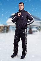 Зимний мужской спортивный костюм батал