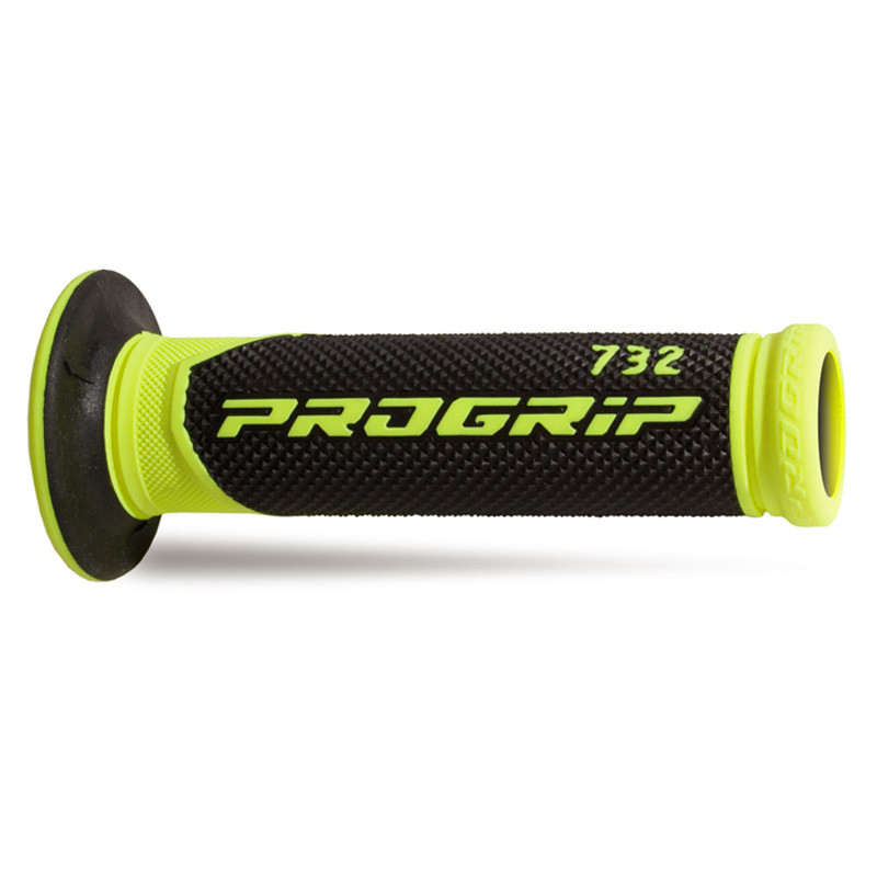 Рукоятки руля Pro Grip Double Density Fluorescent Road Grip PG 732, желтый