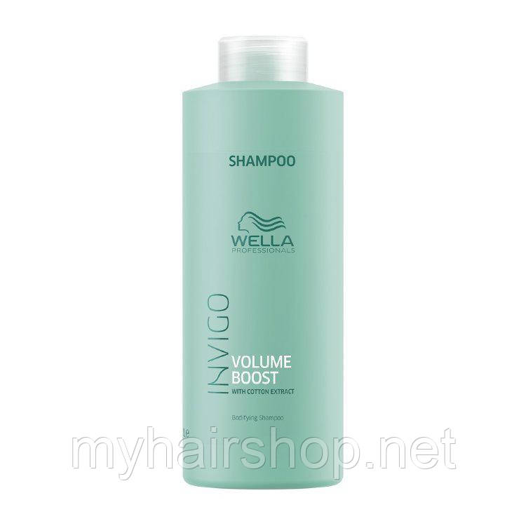 Шампунь для придания объёма Wella Professionals Invigo Volume Boost Bodifying Shampoo 1000 мл