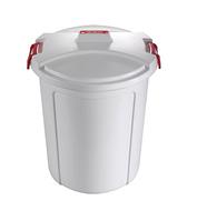 Ведро - контейнер 75 л., для мусора с крышкой Heidrun 1464 (серый)