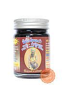 Тайский чёрный бальзам Rammasak из натуральных экстрактов 60 грамм, фото 1