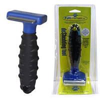 Щетка фурминатор для груминга собак и кошек Furminator deShedding tool лезвие 4.5 см, щетка для шерсти