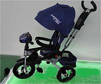 Велосипед детский трехколесный AZIMUTT-400 AIR DENIM с USB