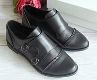 Кожаные женские туфли оптом.