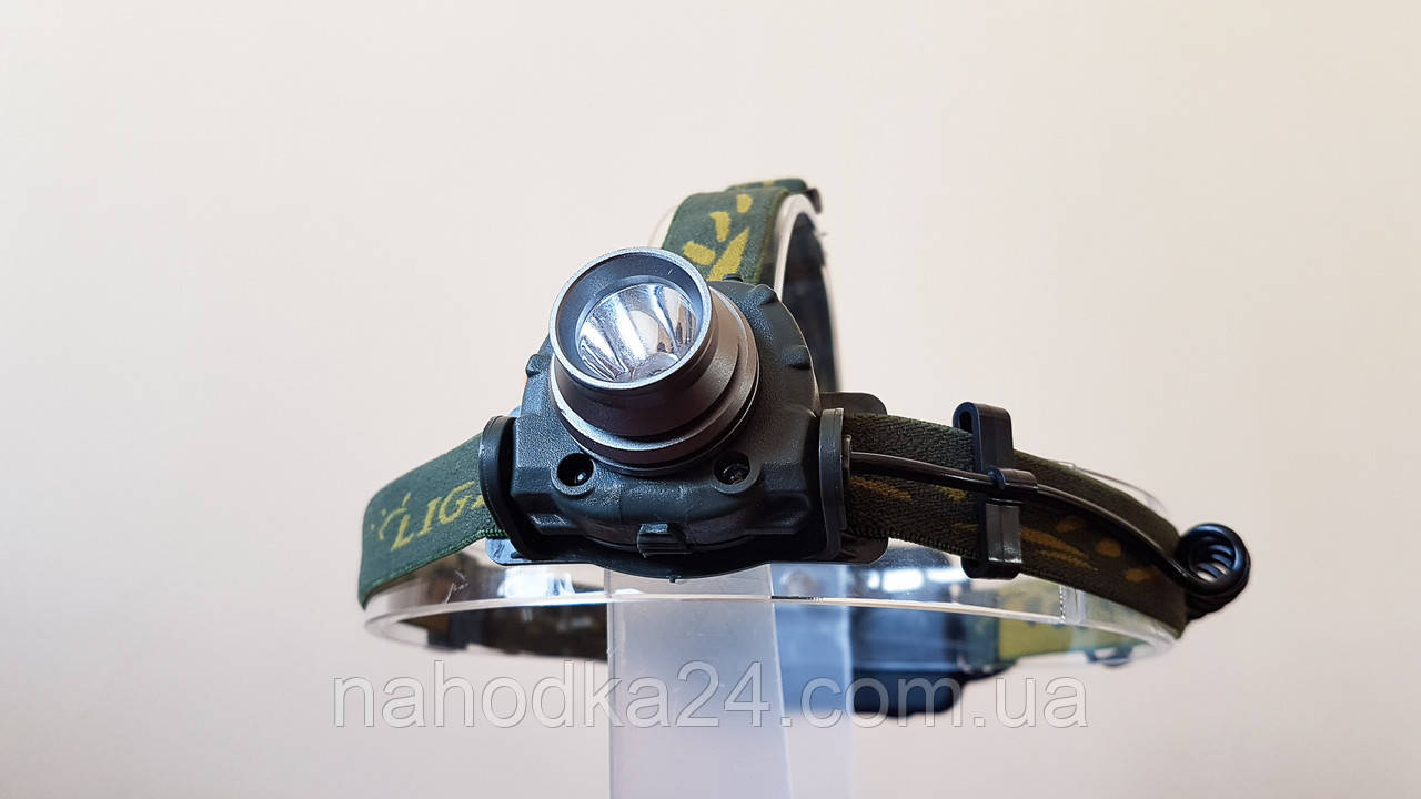 Налобный фонарь с датчиком движения DX-1505A
