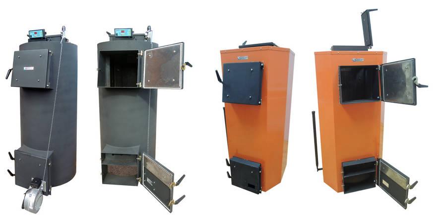 Твердотопливный котел длительного горения Energy SF 18kw (с боковой загрузкой), отапливаемая площадь до 200 м2, фото 2