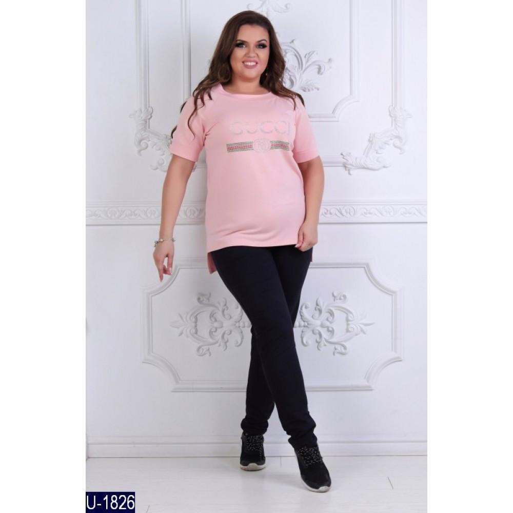 Спортивний костюм літній жіночий з двонитки - «Чарівна Пані» — магазин  стильного жіночого одягу e22b4003df9d3
