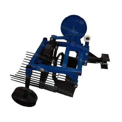 Картофелекопатель вибрационный под мототрактор с гидравликой, фото 2