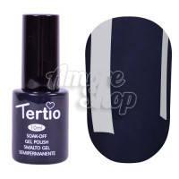 Гель-лак Tertio №161 (серо-синий, эмаль), 10 мл