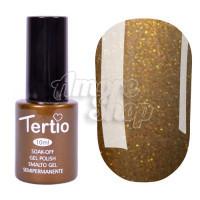 Гель-лак Tertio №162 (горчичный, микроблеск), 10 мл