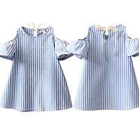 Льняное платье для малышек