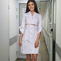 "Жіночий  медичний халат  ""Моніка""  (коттон ), фото 1"