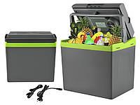 Туристичний автомобільний авто холодильник автохолодильник 25L 220V-12V+ підігрів