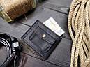 Мужской кожаный кошелек ТУР, фото 3