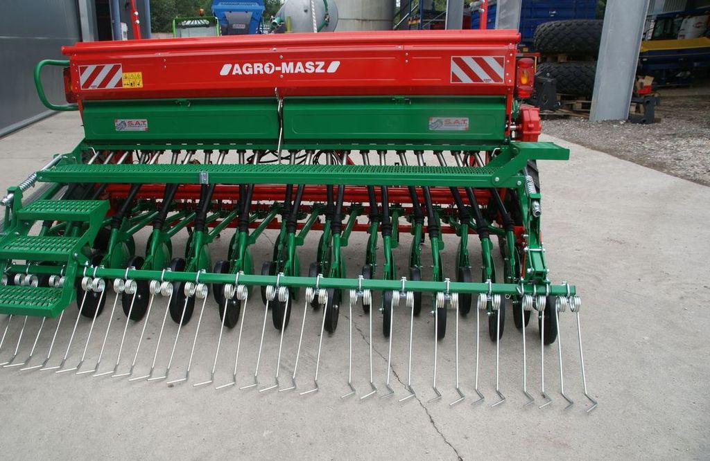 Сівалка зернова 3.5 м Agro-Masz SR350 сеялка (однодисковий сошник) не Amazone D9