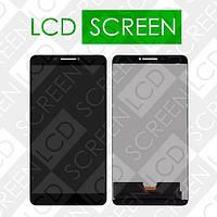 Модуль для планшета Lenovo Phab PB1-750M PB1-750N PB1-750, черный, дисплей + тачскрин, WWW.LCDSHOP.NET