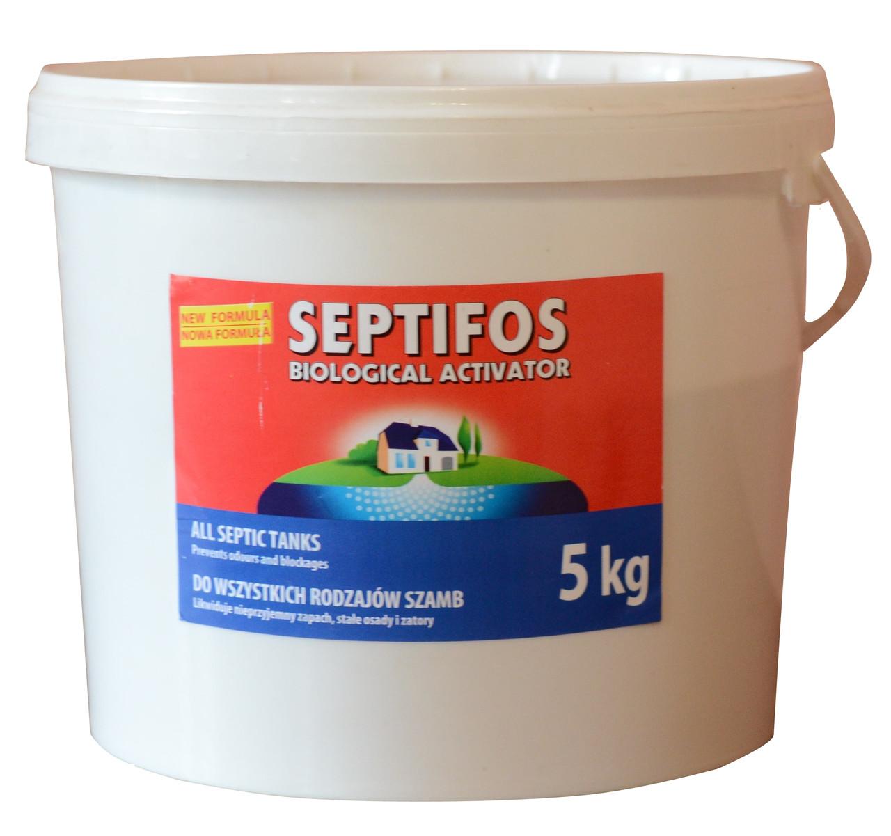 Бактерія для вигрібних ям SEPTIFOS biologocal activator 5 кг