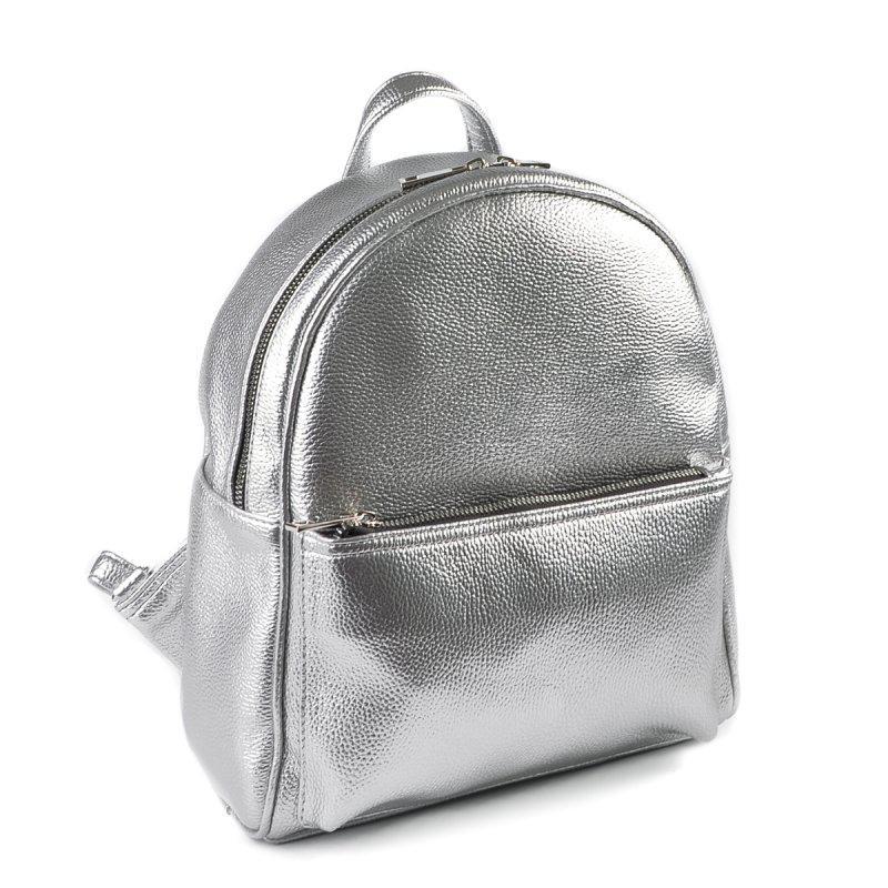 Женский стильный городской рюкзак серебрянный М132-72 - Интернет-магазин  Dobrasumka в Луцке ff2fbbfde32