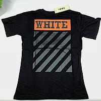 Футболка Off White (черная) XL