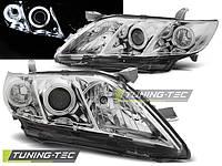 Передние фары тюнинг оптика Toyota Camry XV40