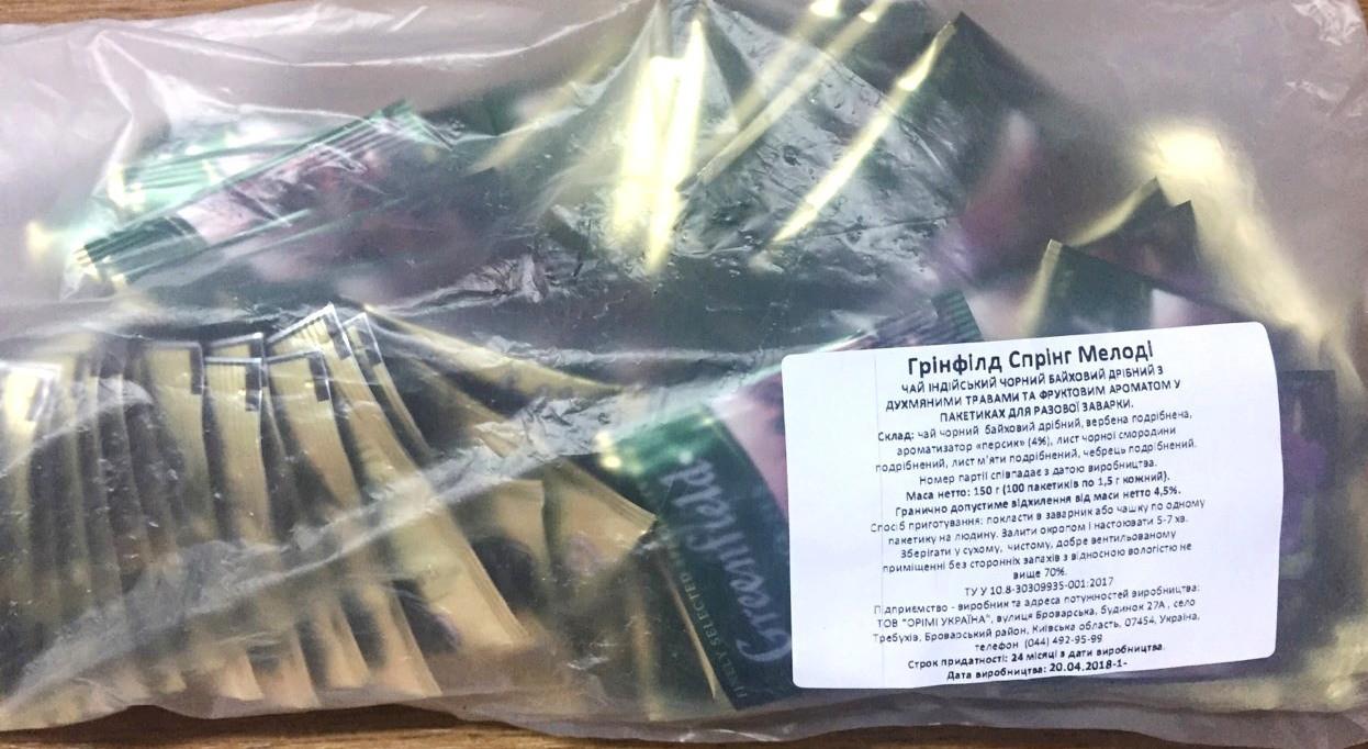 Чай Гринфилд Spring Melodys 100 пакетиков