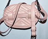 Женский модный черный клатч-пояс на цепочке 18*12 см, фото 2