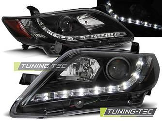 Передние фары тюнинг оптика Toyota Camry XV 40