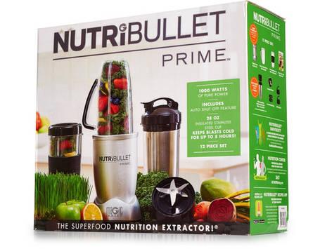 Кухонный мини-комбайн NutriBullet PRIME 9-Предметов 1000W. Метал, фото 2