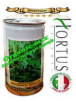 Салат Мизуна зеленая / Mizuno green ТМ «Hortus» (Италия), банка 500 грамм