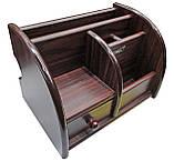 Органайзер ELITE WOOD 5018, 1 PC/ BOX 21,5 / 39x15x17 см, фото 2
