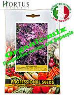 Салат Мизуна красная / Mizuno red ТМ «Hortus» (Италия), проф. пакет 50 грамм, семена