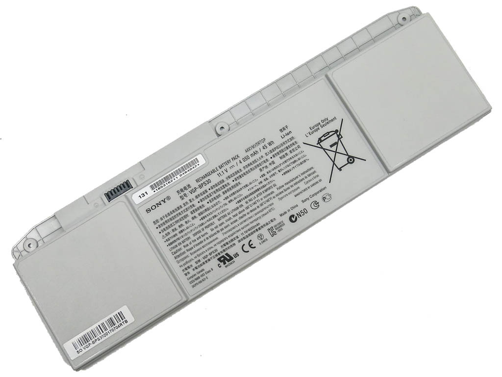 Аккумулятор SONY VAIO (BPS30) Sony Vaio SVT13 VGP-BPS30A (11.1V 4050mA