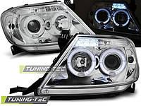Передние фары тюнинг оптика Toyota Hilux