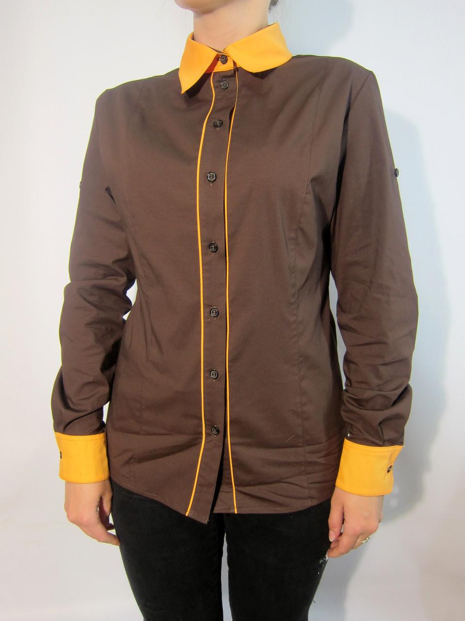 Рубашка для официанта с кантом Atteks - 02101