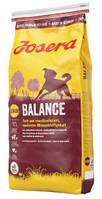 Josera Balance 15 кг, корм для пожилых и малоактивных собак