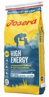 Josera High Energy 15 кг, корм для  спортивных, охотничьих и служебных собак