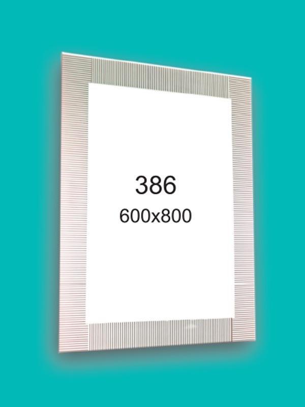 Дзеркало для ванної кімнати 600*800 Ф386