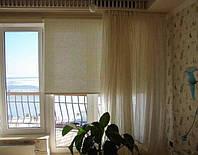 Рулонные шторы из натуральных сортов ткани производство под заказ