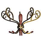 """Вешалка (стойка для одежды) напольная деревянная """"Олимп"""", коричневая, фото 3"""