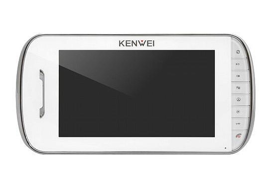 Цветной домофон Kenwei E703FC-W100 (white)