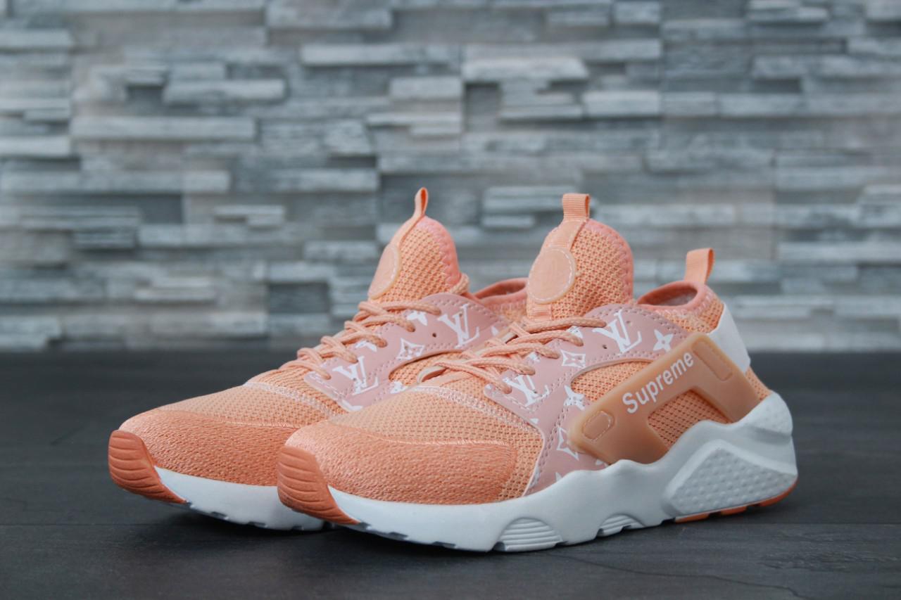 new product fe097 0c17d Кроссовки женские в стиле Nike Huarache Ultra Supreme код товара DD-61034.  Персиковые - Bigl.ua