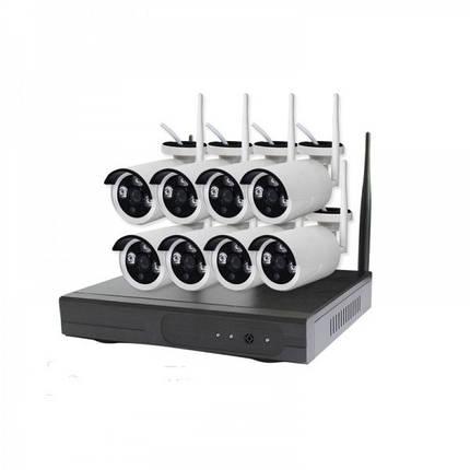 Беспроводной комплект видеонаблюдения на 8 камер CT-NW6308, фото 2