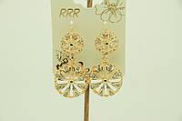 Купить серьги оптом из ювелирная бижутерия .1549
