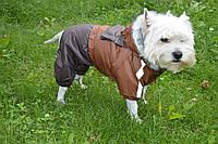 Комбинезон для собак Дуэт коричневый