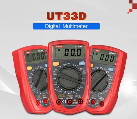 Портативный мультиметр UNI-T UT33D, фото 2