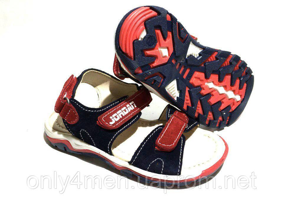 Обувь детская.Босоножки Jordan.Замша.