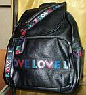 Рюкзак женский 25*30 см черный