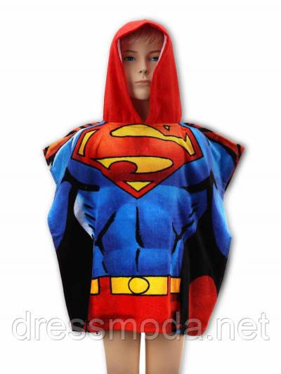 Полотенце-пончо Superman 55/110 р.
