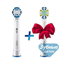 Насадки для зубной щетки Oral-B EB20 Precision Clean (8 шт.) +Floss Action EB25 (4 шт.) в подарок!